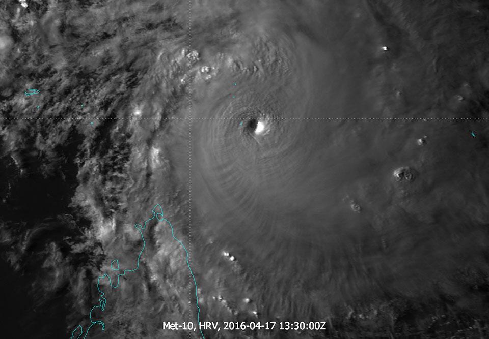 Met-10, 17 April 2015, 13:30 UTC
