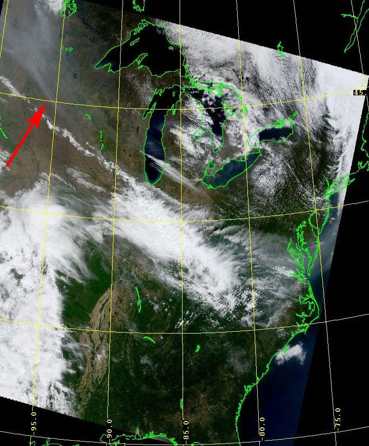 MODIS Visible, 8 May 16:45 UTC