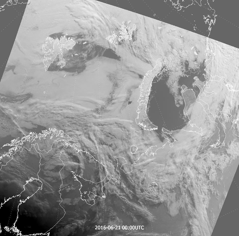 Suomi-NPP VIIRS DNB, 21 June 00:00 UTC