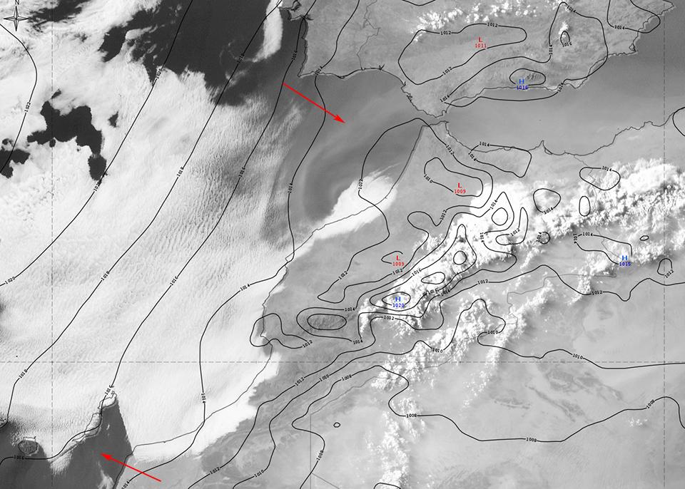 Meteosat-10 HRV, 10 July 18:00 UTC