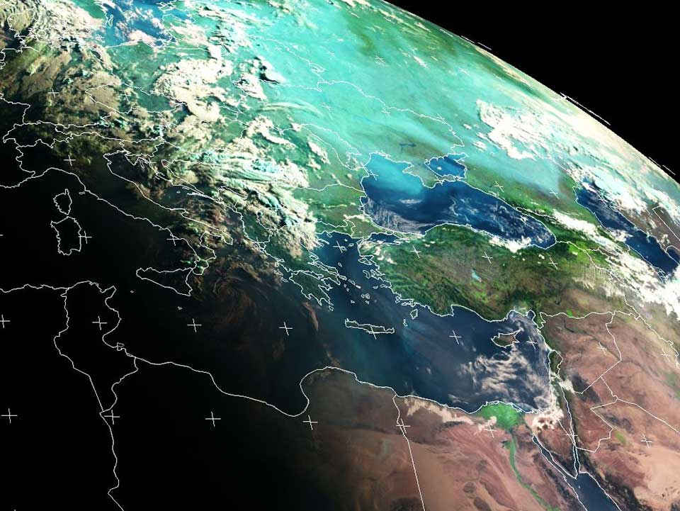 Met-9, 26 July, 04:00 UTC
