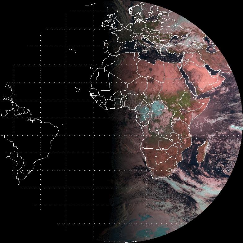 Meteosat-10 Natural Colour RGB, 22 Sept 06:00 UTC