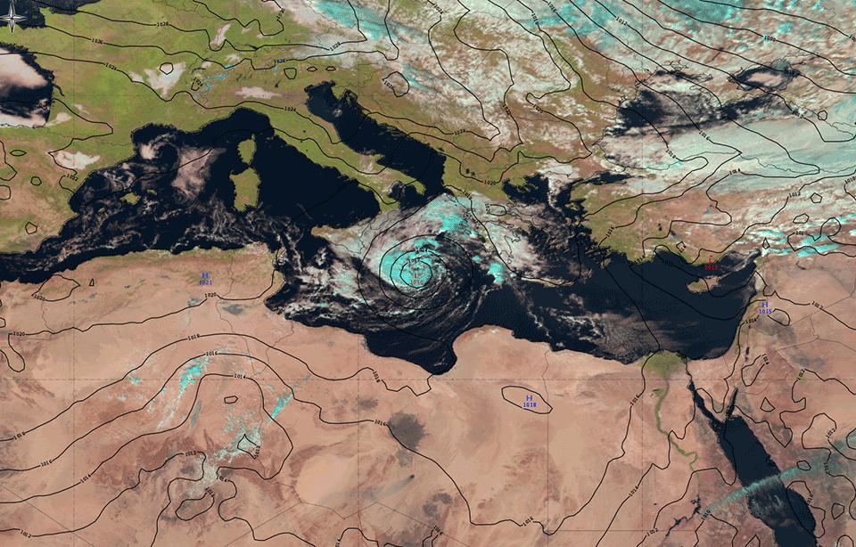 Met-10, 30 October, 12:00 UTC