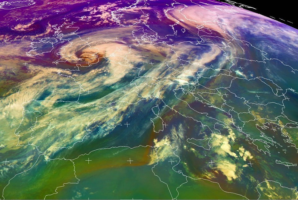 Airmass RGB, 20 November 05:00 UTC