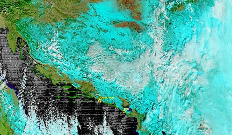 Terra, 07 January, 09:45 UTC
