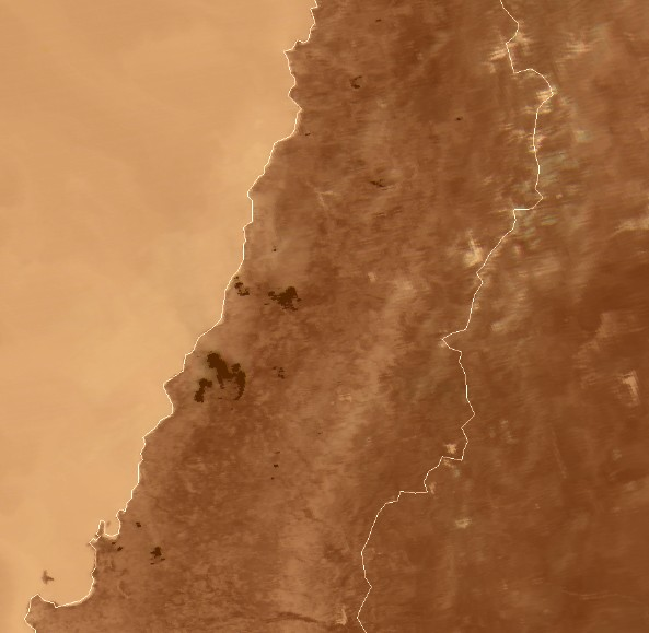 MODIS channels at 3.78, 3.97 and 3.99 µm