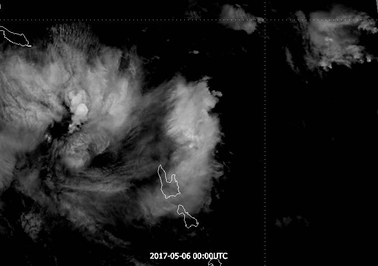 Himawari-8 band 14, 6 May 00:00 UTC