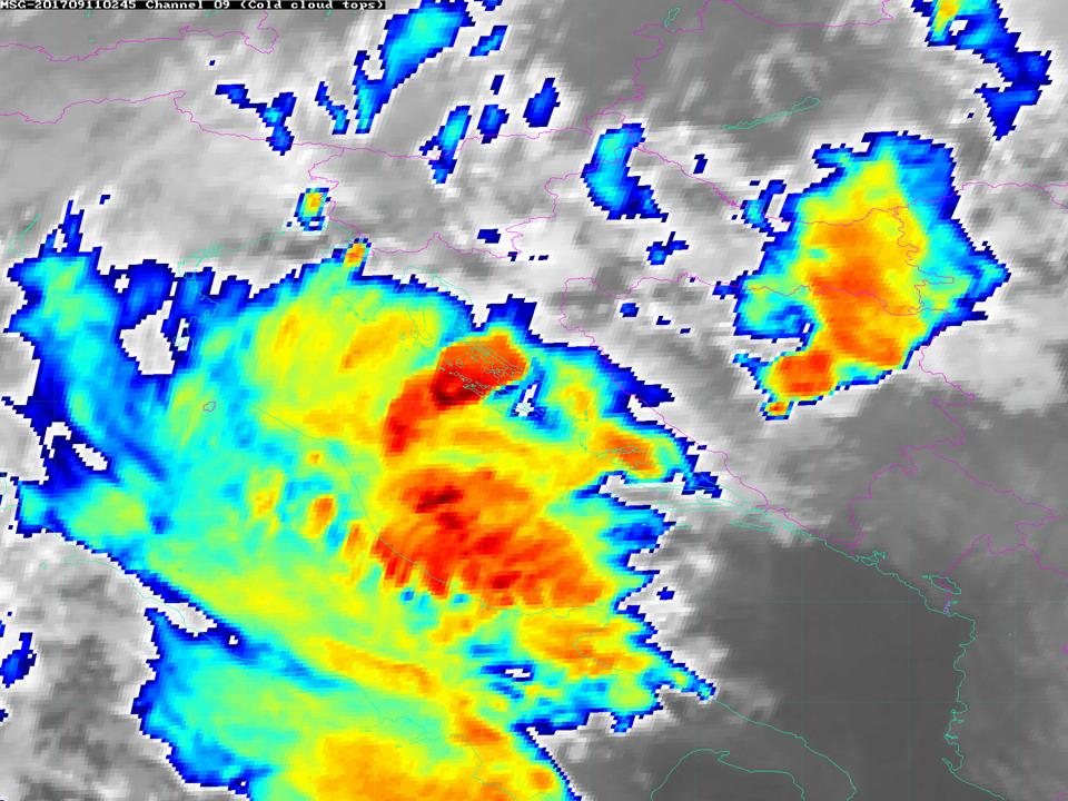 Met-10, 11 Sept, 02:45 UTC