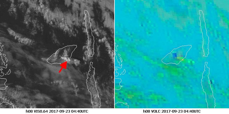 Himawari-8 Visible 0.64, 23 Sept 04:40 UTC