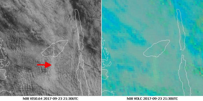 Himawari-8 Visible 0.64, 23 Sept 21:30 UTC