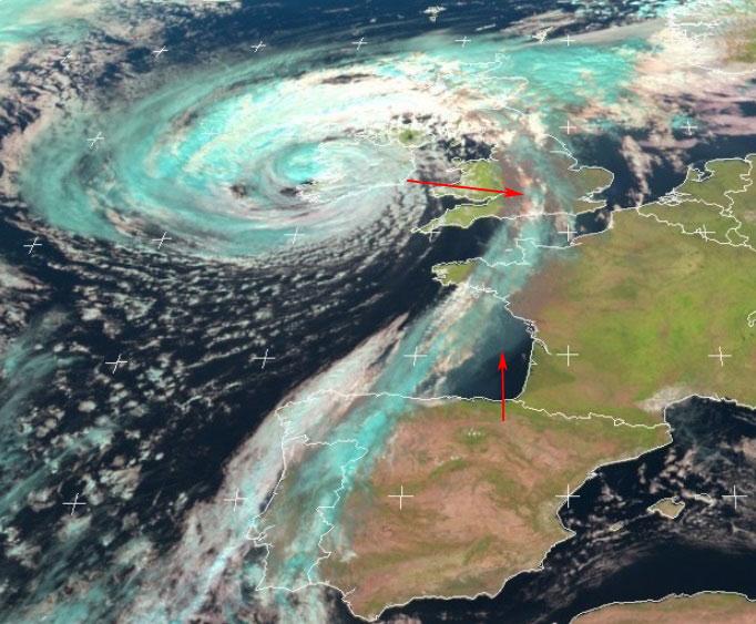 Met-10, 16 October, 12:00 UTC