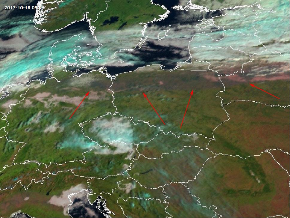 Met-10, 18 October, 09:00 UTC