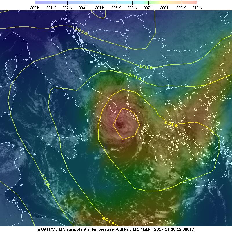 Met-9, 18 Nov, 12:00 UTC