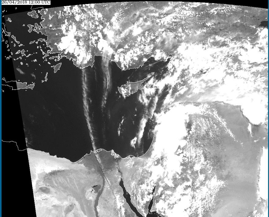 Met-9, 26 April, 12:00 UTC