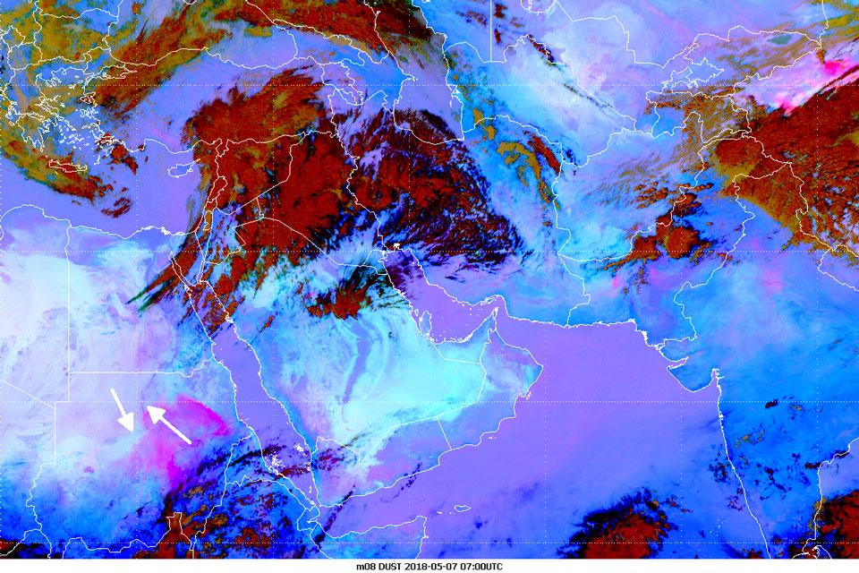 Met-8, 07 May, 07:00 UTC