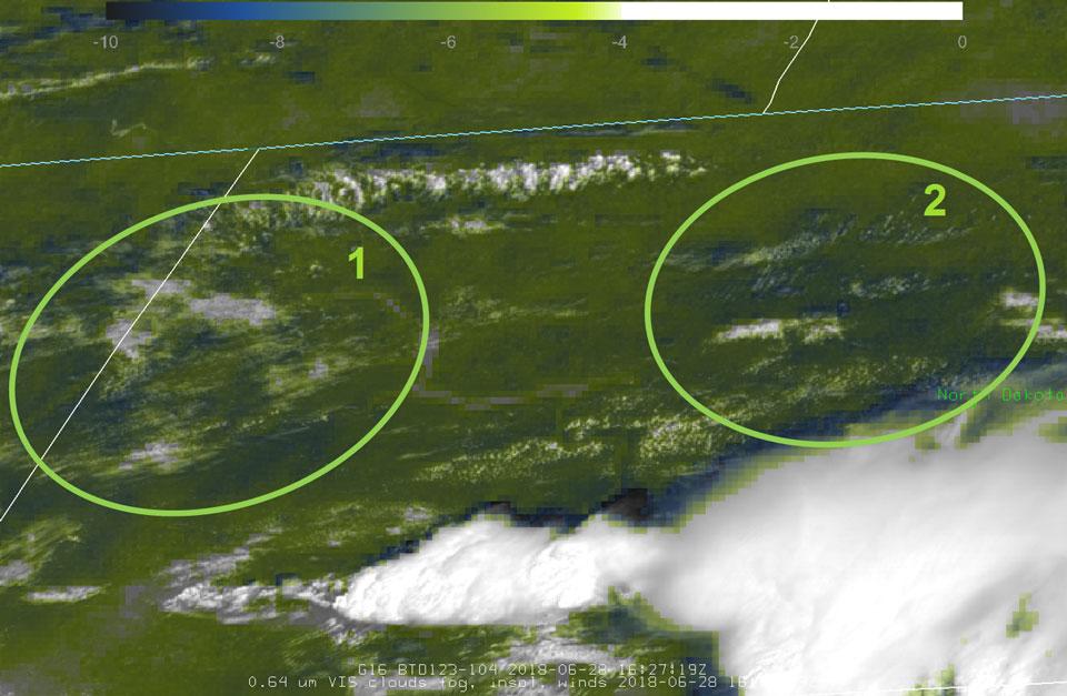 GOES-16 Sandwich Product, 28 June 16:27 UTC