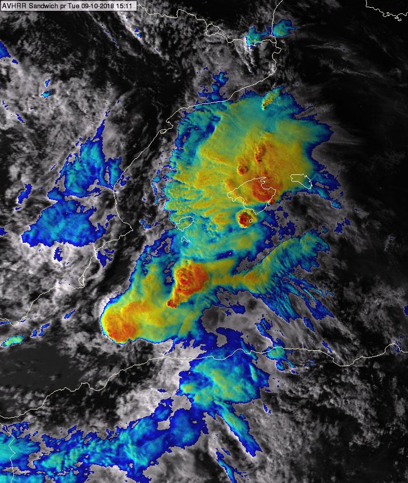 NOAA-19, 09 October, 15:11 UTC