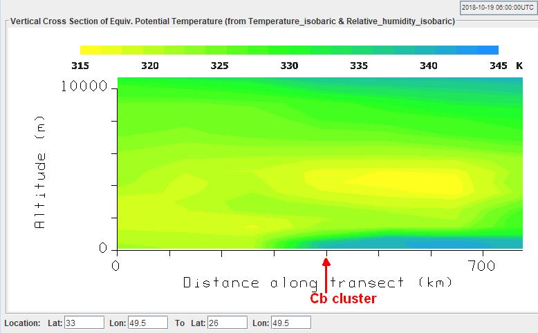 GFS model analysis at 06:00 UTC