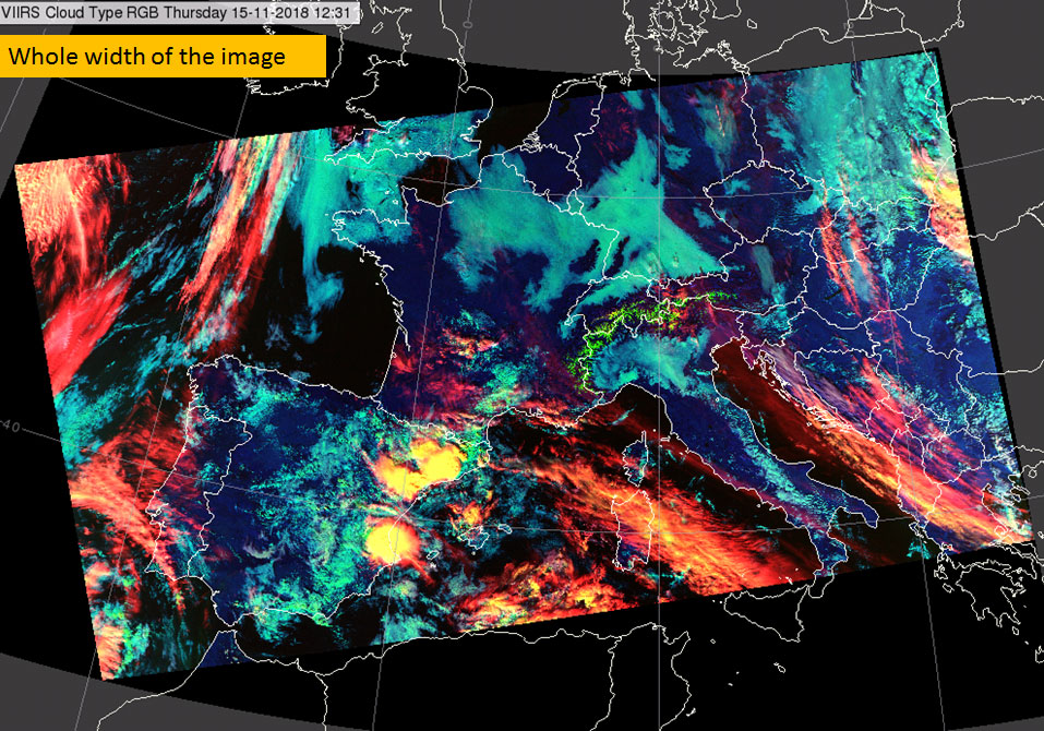 Suomi-NPP VIIRS, 15 Nov, 12:31 UTC