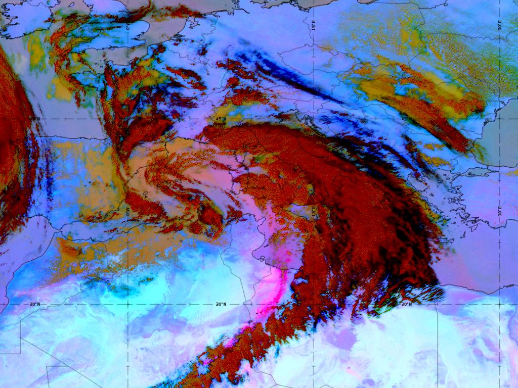 Met-11, 22 April, 12:00 UTC