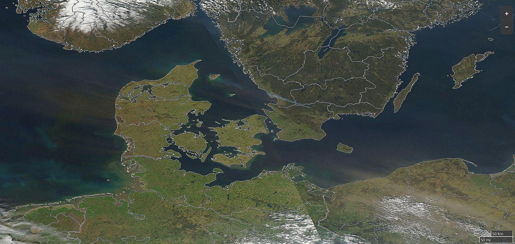 Aqua MODIS True Color RGB, 23 April, 11:10 UTC