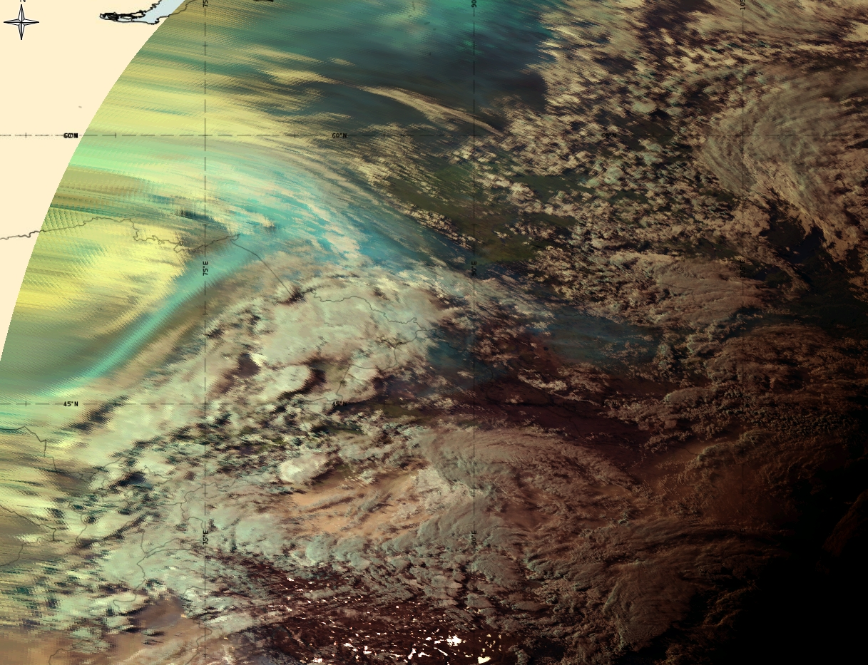 Himawari-8 Natural Colour RGB, 5 June 12:00 UTC