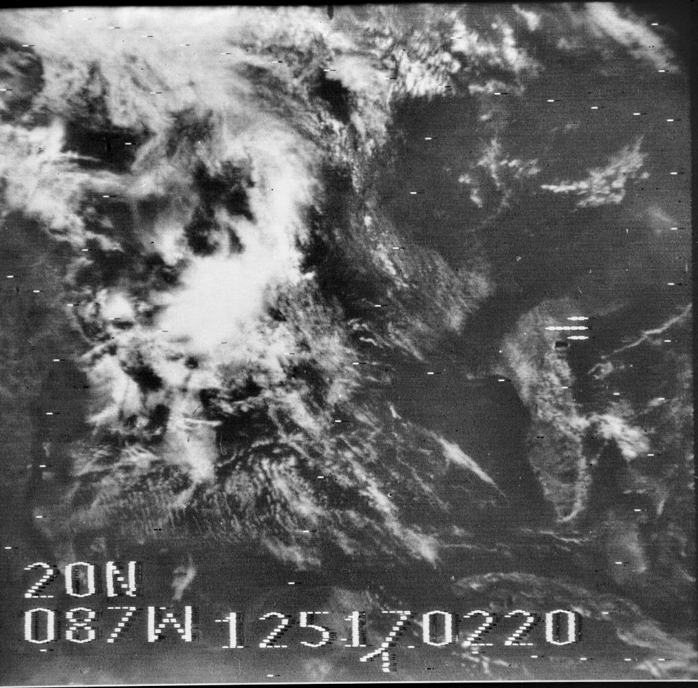 Nimbus-3, 5 May 1969 17:02 UTC. Credit: NASA