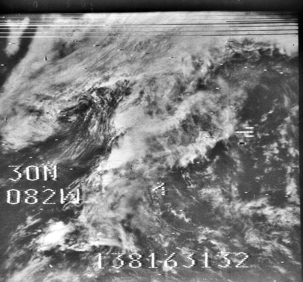 Nimbus-3, 18 May 1969 16:31 UTC. Credit: NASA