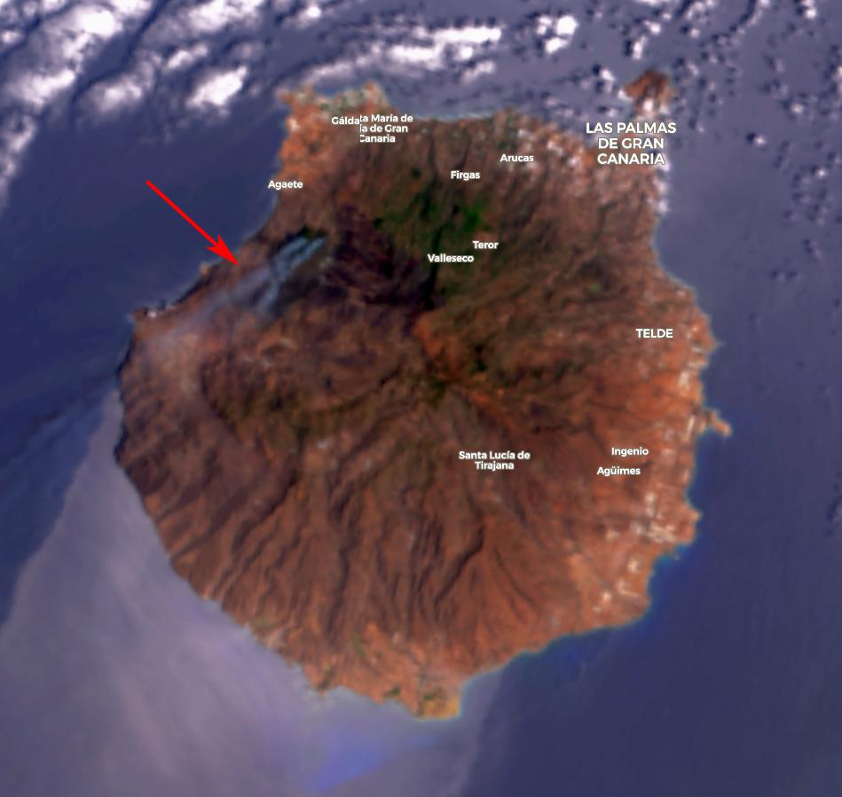 Terra MODIS True Color RGB, 20 August 09:30 UTC