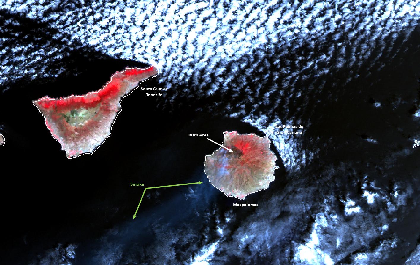 Sentinel-3B SLSTR, 19 August 11:19 UTC