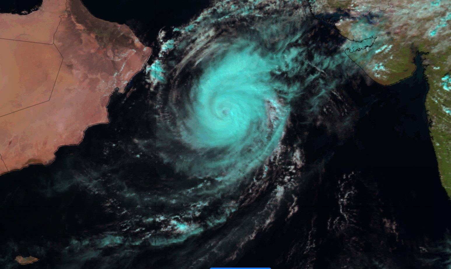 Metosat-8 Natural Colour RGB image 29 Oct 09:00 UTC