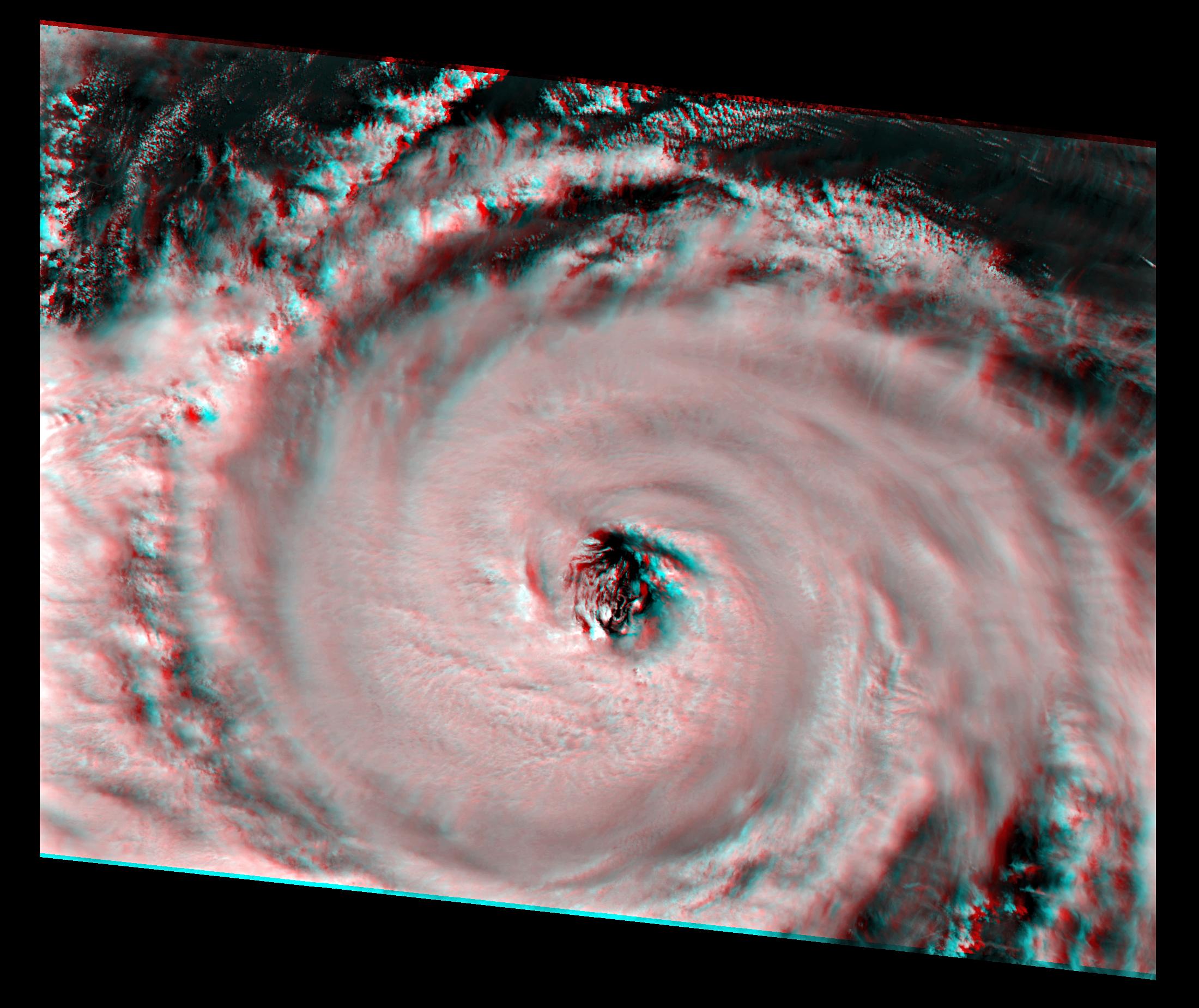 Hurricane Dorian, 5 September 2019, 16:05 UTC