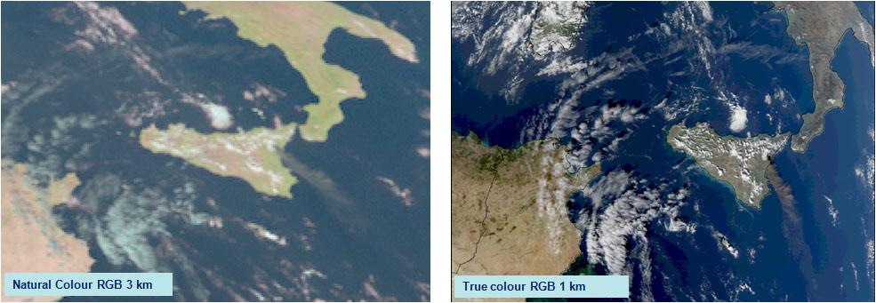 MTG example SEVIRI v MODIS Ash
