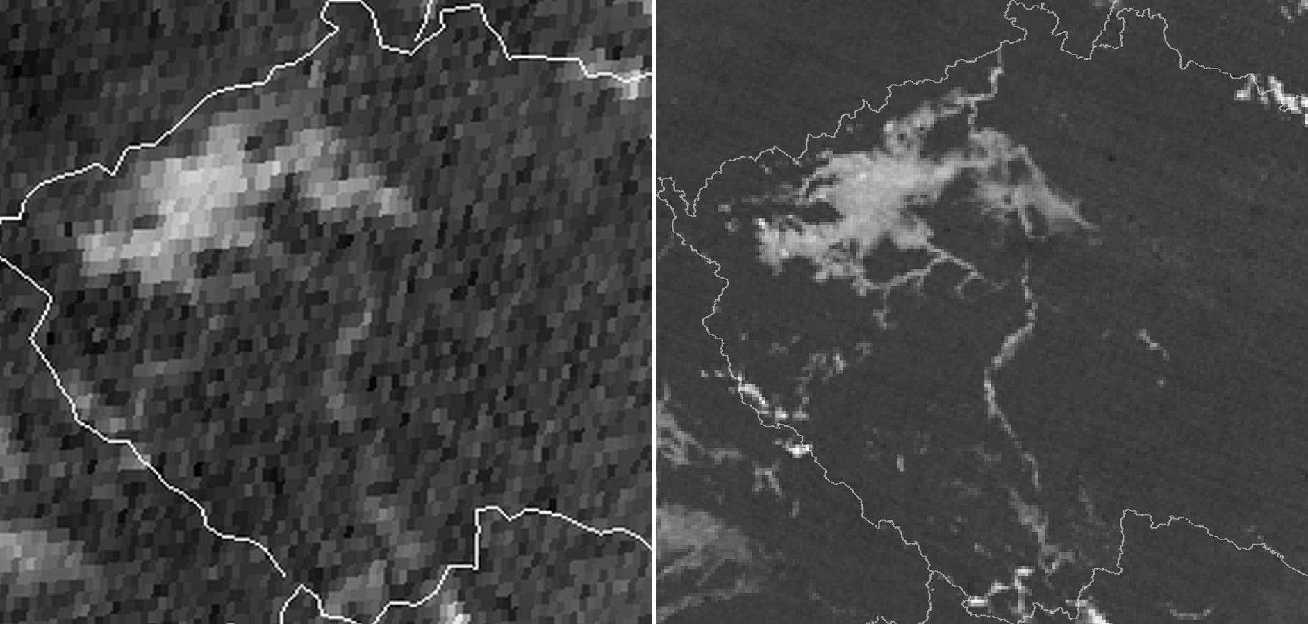 MTG example SEVIRI v VIIRS Fog