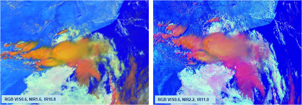 MTG example SEVIRI v MODIS Sev Con