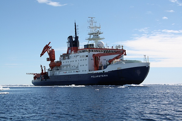 The Polarstern research vessel