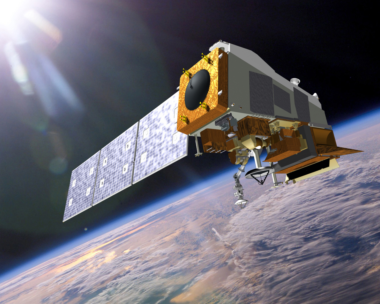 The Suomi NPP satellite. Image credit: NOAA