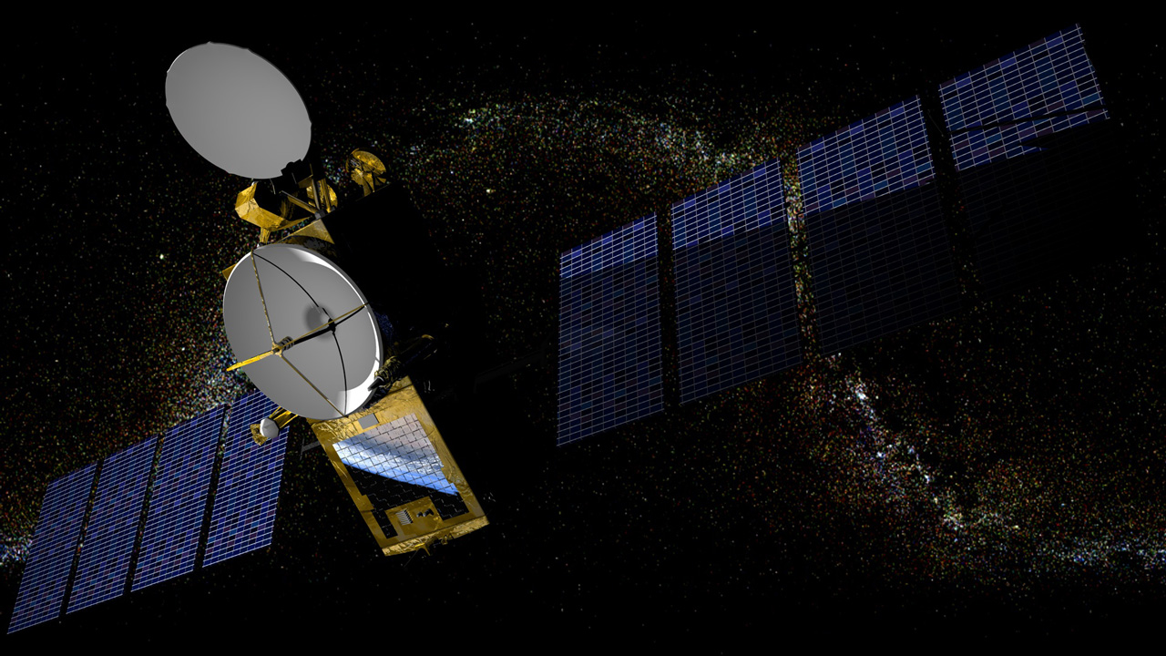 Artist's impression of Jason-2 in orbit