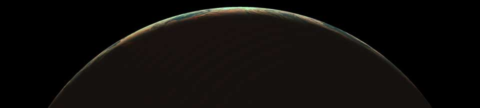 Meteosat-9 SEVIRI image of the northern solstice over the polar region, taken at midnight on 21 June 2011
