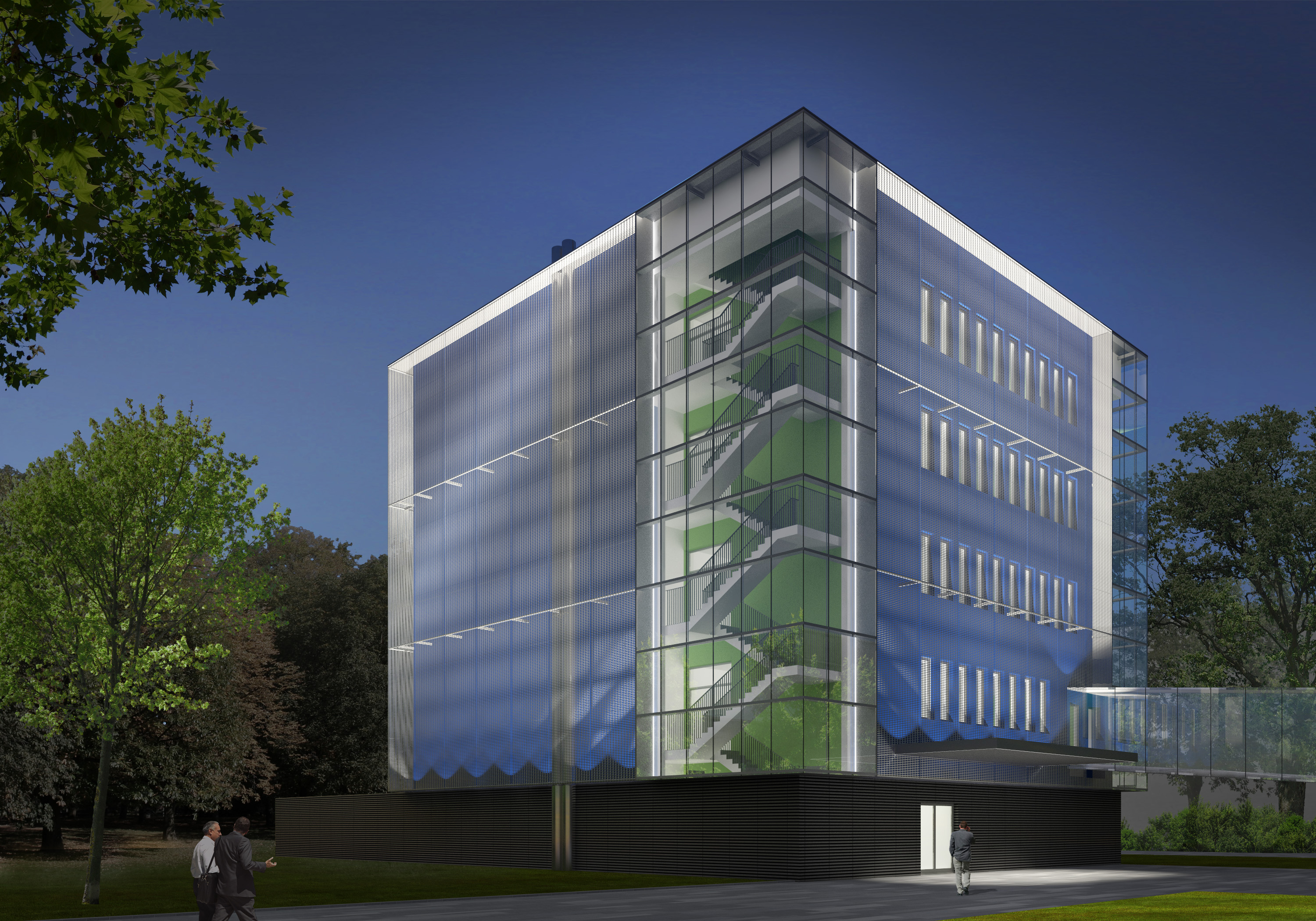 Artist's impression of the New Infrastructure Building
