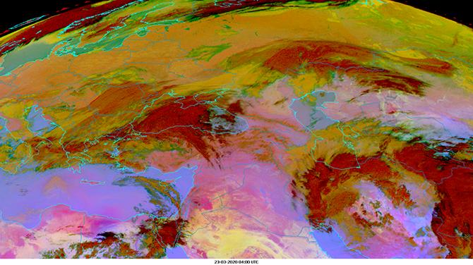 Aralkum Desert dust pollutes air in South-East Europe