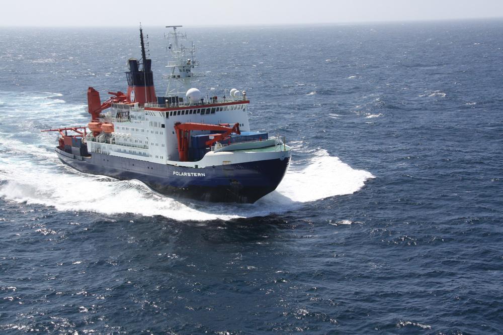 The research vessel Polarstern. Source: Folke Mertens, AWI