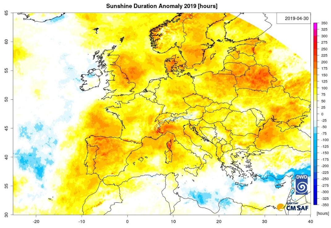 Sunshine Duration Image
