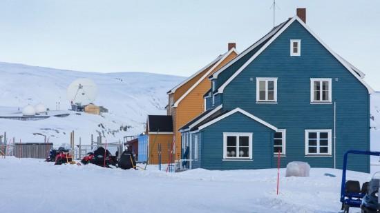 Figure 2: The Koldewey-Station (Ny-Ålesund, Svalbard)
