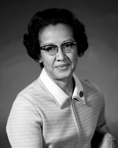 "Katherine Johnson, Mathematician at NASA who was portrayed in the film, ""Hidden Figures"". (photo credit: NASA)"