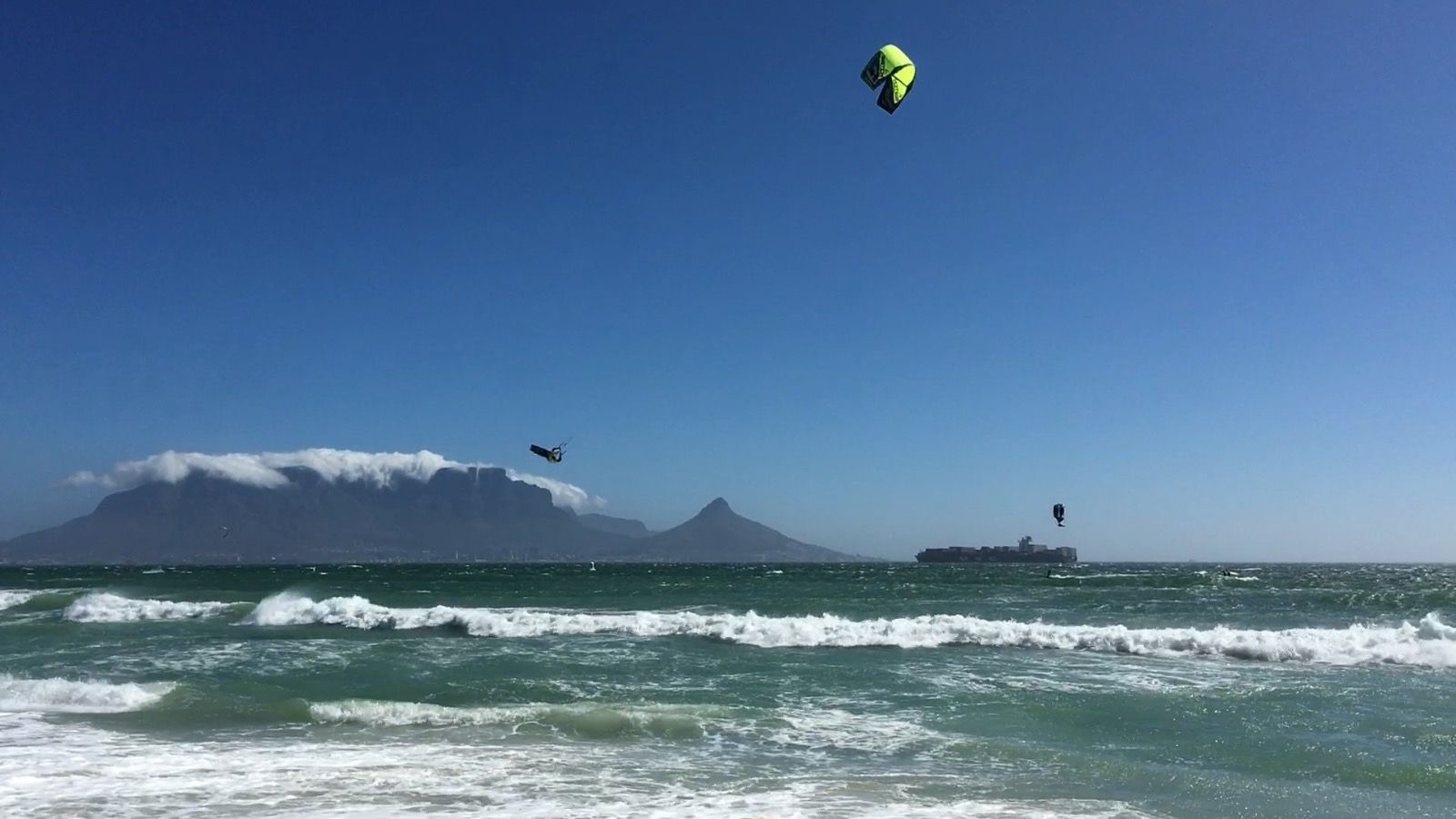 Cloud situation AKA Cape Doctor, ©@Echtzeitreise