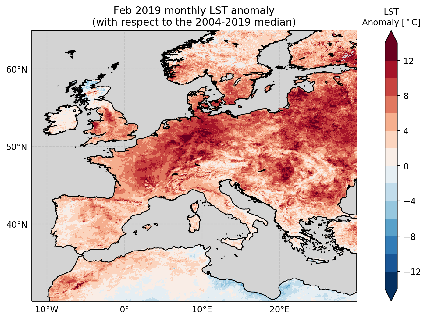 2018 and 2019 Drought and Heatwaves in Europe