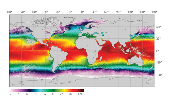 Global Sea Surface Temperature