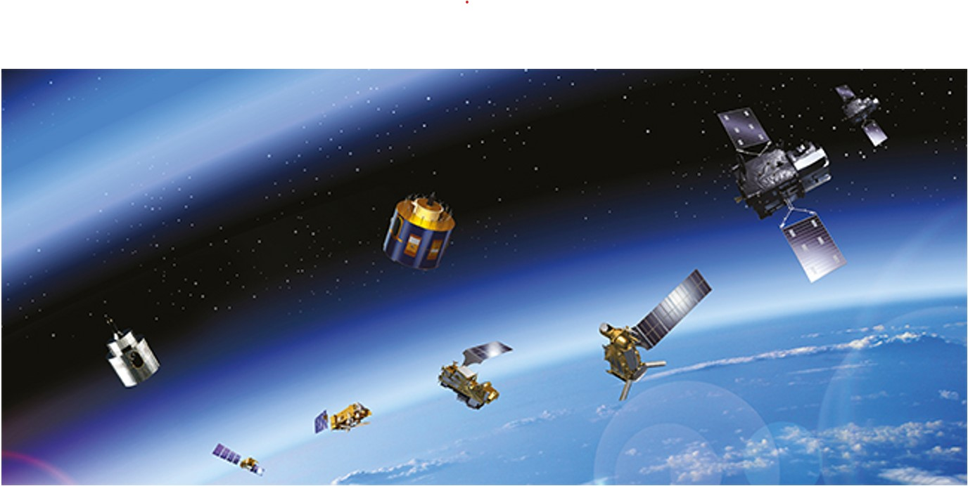 past and present satellites