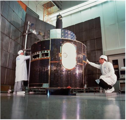 Meteosat first generation satellite